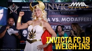 Invicta FC 19 Weigh-In Highlights by MMA Fighting
