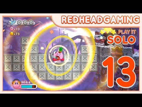 Kirby's Return To Dream Land - #13 - Solo - Redhead Gaming