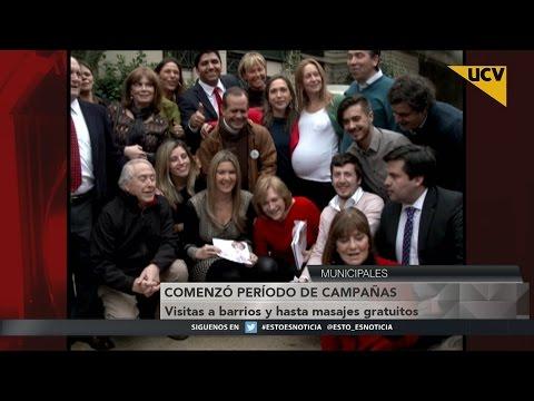 video Comenzó período de campaña para elecciones municipales