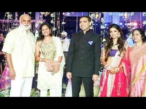 Star Director K.Raghavendra Raos Son || Aditya Wedding Reception