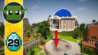 Minecraft LIBRARY - Transform a Minecraft Village into a Town E29