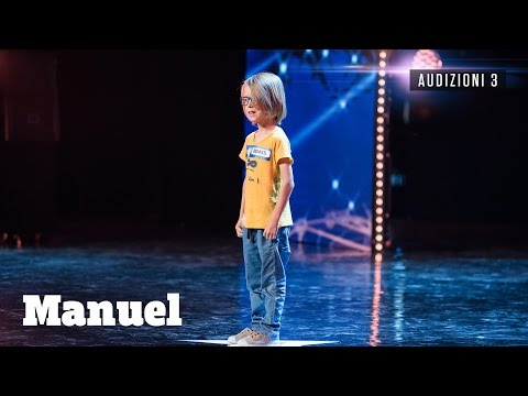 italia's got talent - manuel imita il rumore delle ambulanze