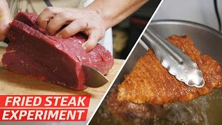 What Is The Best Way to Deep-Fry a Steak? — Prime Time by Eater