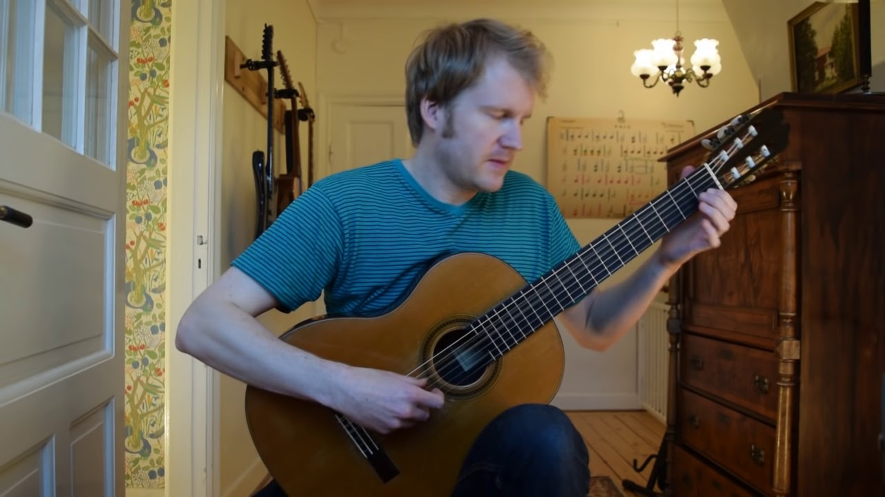Sunburst – Andrew York (Acoustic Classical Guitar Fingerstyle Cover with tabs)