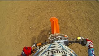 7. 2014 KTM 150 SX first ride at Louee - Gopro 3