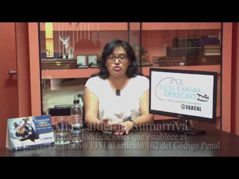 Programa 07 - Las Modificaciones al Decomiso - Luces Cámara Derecho - EGACAL