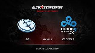 Cloud9 vs Evil Genuises, game 2