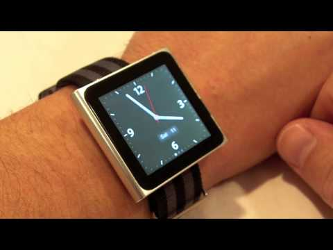 ipod as a watch - Christian Cantrell reviews the iPod Nano as a watch for Watch Report. Check out the complete review at http://www.watchreport.com/2010/09/does-the-ipod-nano-...