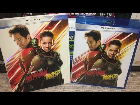 Ant-Man And The Wasp (2018) Blu-Ray Review
