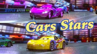 In this video we play 2 player split screen Cars 2 : the video game with Holley Shiftwell and race Jeff Gorvette on Ginza Sprint.