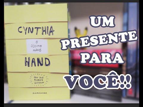 Sorteio para inscritos - O Último Adeus, Cynthia Hand | Aninha Pessoni