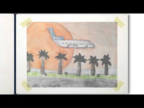 Barn tegner sin drømmreise med SAS