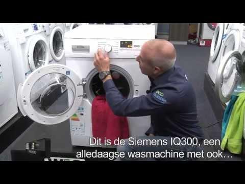 Siemens IQ300 wasmachine review en unboxing (WM14E427,WM14E447)