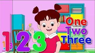 Belajar Bahasa Inggris Angka 0-9 Bersama Diva | 123 English For Kids | Kartun Anak Channel