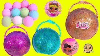 Video BIG LOL Surprise BAll Haul ! Baby Dolls Sisters + Fizzy Water Bombs MP3, 3GP, MP4, WEBM, AVI, FLV Maret 2019