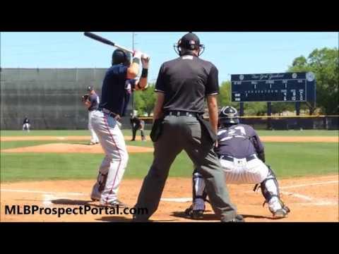 Austin Riley - Atlanta Braves prospect (3B) - Full RAW Video 2018
