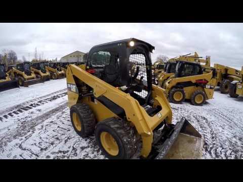 CATERPILLAR KOMPAKTLADER 236D equipment video G49hMR2J0mQ