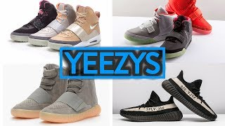 LIFE OF A SNEAKERHEAD 11: ALL YEEZY SHOES EXPLAINED!
