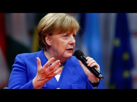 Bundeskanzlerin Merkel besteht gegenüber Italien auf Pr ...