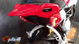 7. Jordanbikes- for sale MV AGUSTA Rivale 800 2014/14 1 owner bike, 619 miles from new, £7490
