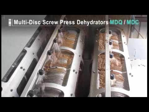 Tsurumi Multi-Disc Dehydrators