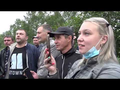 Хабаровчане остановили кортеж Дегтярева