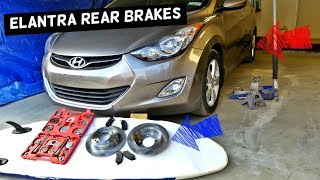 Nonton How To Replace Rear Brake Pads And Disc Rotor On Hyundai Elantra Film Subtitle Indonesia Streaming Movie Download