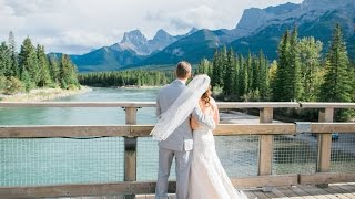 Canmore Wedding Photographer: Quarry Lake & Canmore Nordic Centre - Video Clip of Tiffany &