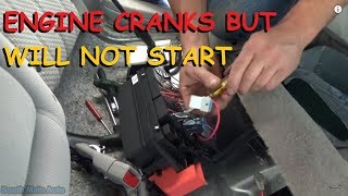 """In this video we have a look at a common problem that plagues these Buick Lucerne's. It got towed in as a """"Crank, No Start"""" and..."""