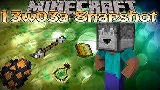 Minecraft 1.5 13w03a Snapshot Update - Dropper, testfor command block, stronger mobs&MORE!