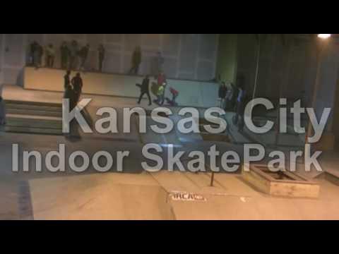 Indoor Skateboard Park in Kansas City