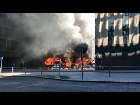 Σουηδία: Έκρηξη σε λεωφορείο στο κέντρο της Στοκχόλμης