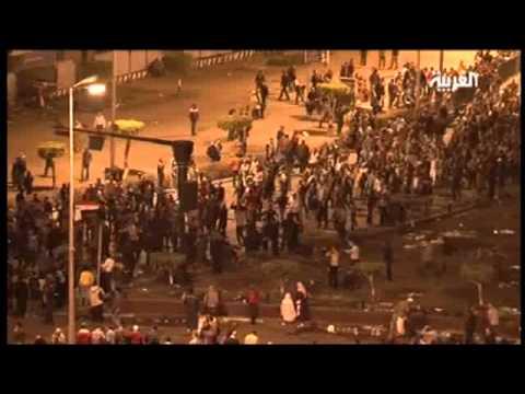 الإضطرابات في القاهرة..مشاهد تذكر ببداية الثورة
