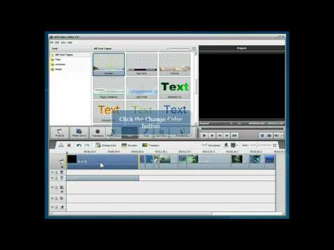 How to add titles in videos using AVS Video Editor?
