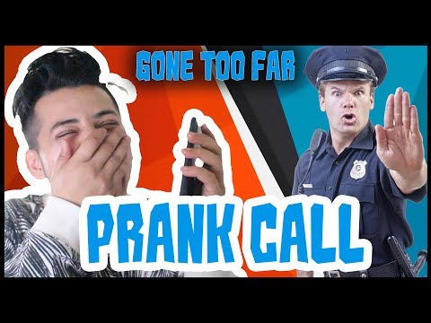 (PRANK CALL GONE TOO FAR [POLICE CAME OVER] - Duration: 14 minutes.)