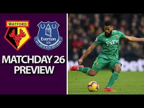 Video: Watford v. Everton | PREMIER LEAGUE MATCH PREVIEW | 2/9/19 | NBC Sports