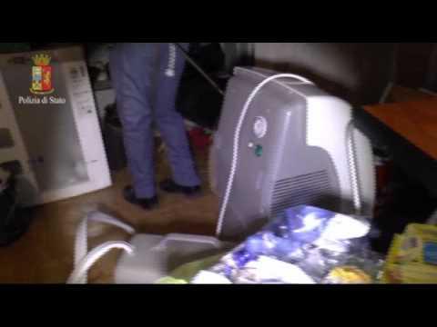 """""""Scialla Semper"""", operazione antidroga della Polizia"""