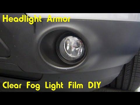 Clear Foglight Protection Tint Kit Install DIY – Ford Explorer – Headlight Armor