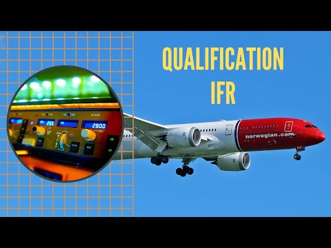 PILOTE : La qualification de VOL AUX INSTRUMENTS (IFR) - INSTRUMENT RATING