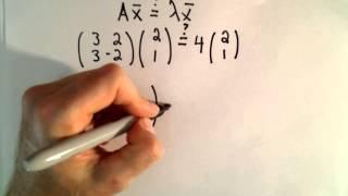 Introduction to Eigenvalues and Eigenvectors - Part 1