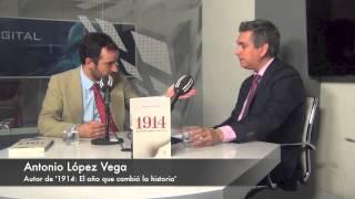 Antonio López Vega, autor de '1914: El año que cambió la historia'. 18-6-2014