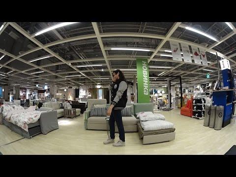 VLOG × НОЧЬ В ЗАКРЫТОЙ IKEA! (видео)