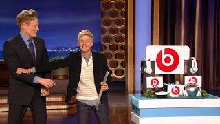 Video Ellen Visits Conan O'Brien MP3, 3GP, MP4, WEBM, AVI, FLV Juli 2018