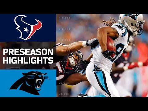 Texans vs. Panthers | NFL Preseason Week 1 Game Highlights - Thời lượng: 4:30.