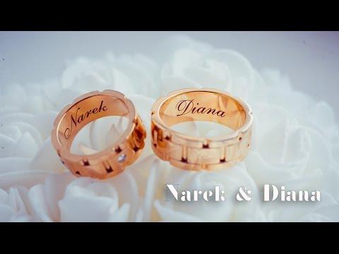 Narek & Diana wedding video (видео)