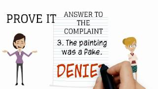 Answering a civil complaint