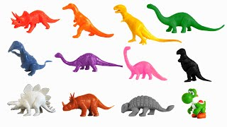 Dinosaur Colors - Featuring Yoshi from Super Mario - The Kids' Picture Show (Fun & Educational)