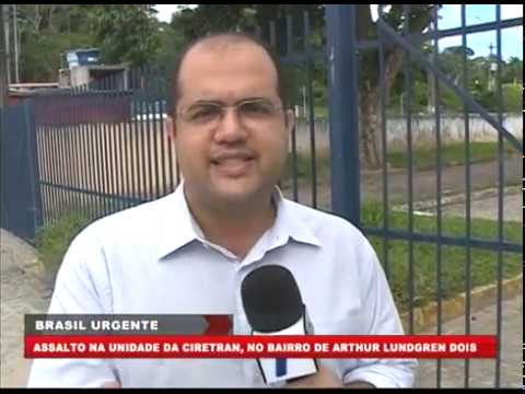 [BRASIL URGENTE PE] Assalto na unidade da CIRETRAN, no bairro de Arthur Lundgren II, Paulista