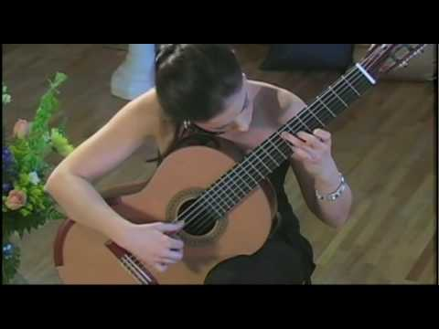 Ana Vidovic Guitar Artistry in Concert – Classical Guitar Performance DVD