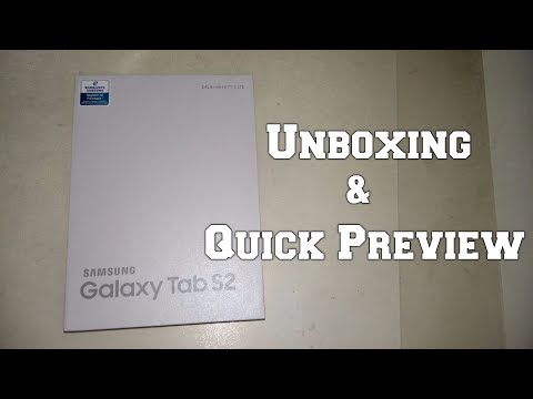 Samsung Galaxy Tab S2 (4G LTE): Unboxing & Quick Preview
